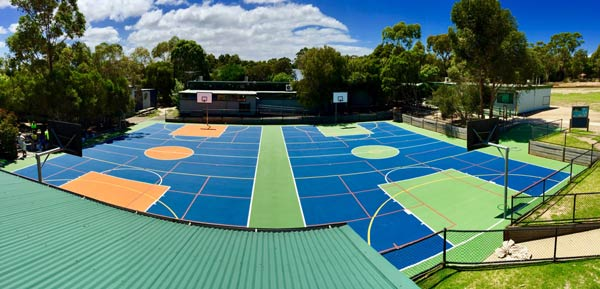 Multipurpose Court Refurbishment Melbourne